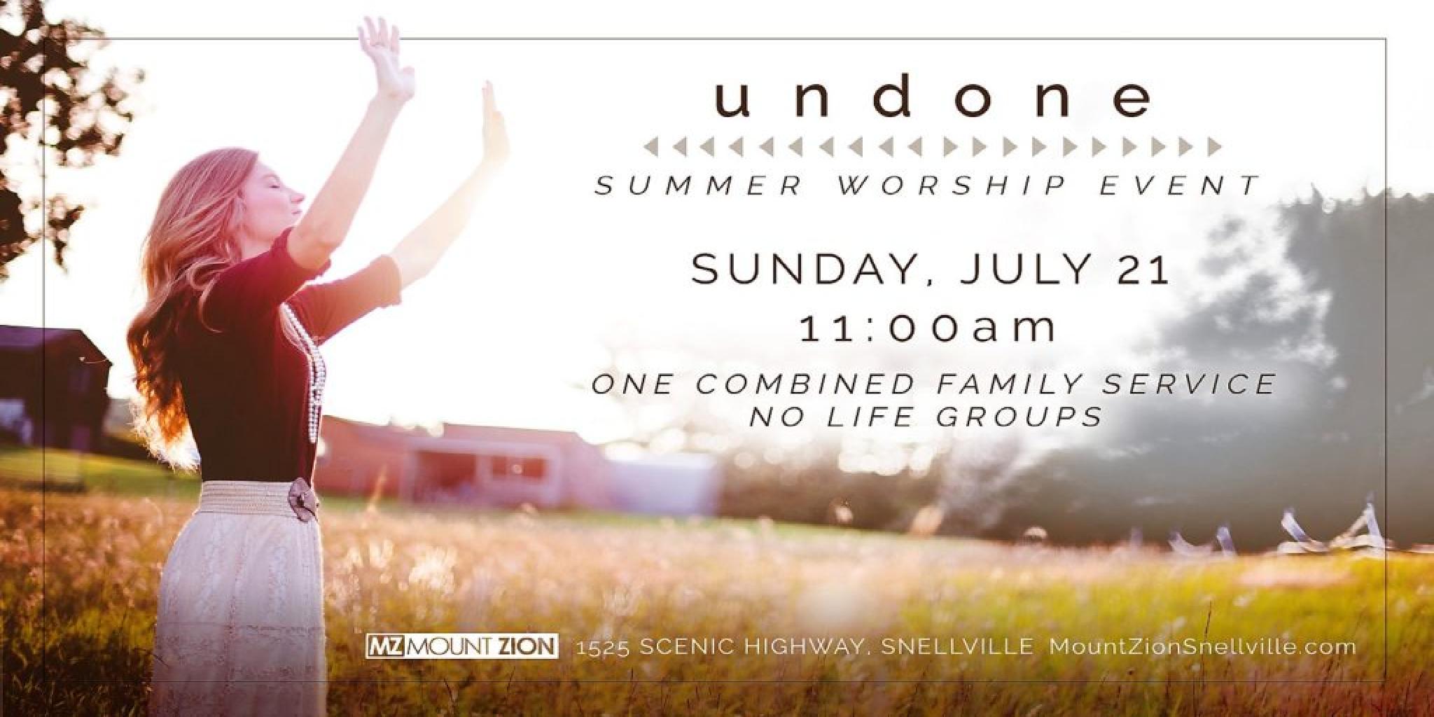 Summer Worship 19