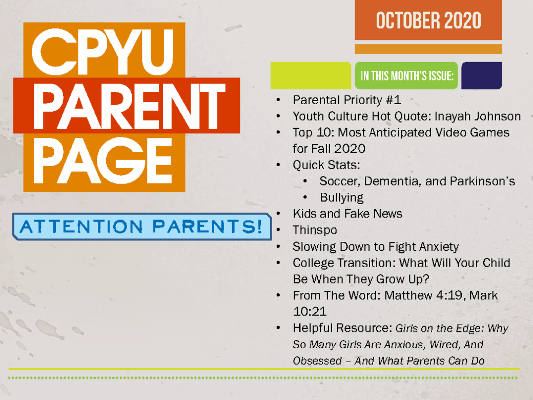 CPYU-Parent-Page-October-2020